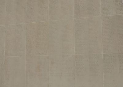Wreath laid in honour of 4806 Private Edwin Hindmarsh at the Australian National Memorial.