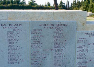 Wreath laid in honour of 894 Private William Shelford at The Lone Pine Memorial, Gallipoli.