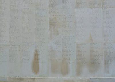Wreath laid in honour of 3797 Private Robert Watkinson at the Australian National Memorial