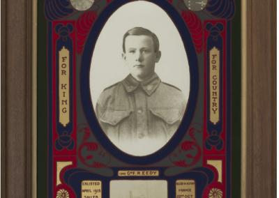 Portrait of 1540 Gunner Ronald Frederick Eedy, Australian War Memorial Collection P04133