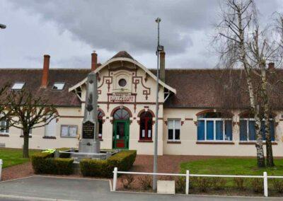 The Mairie, Bullecourt, France.