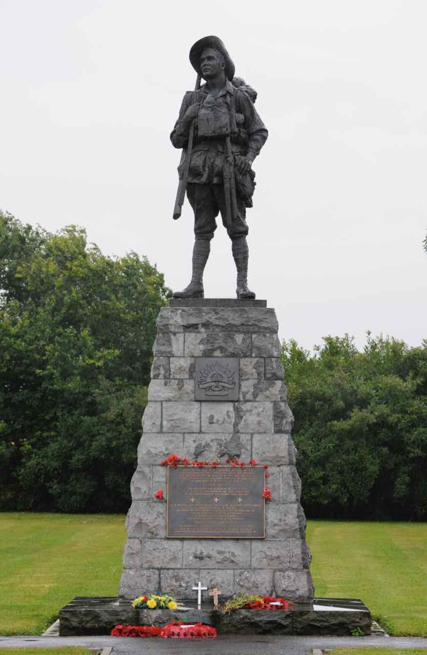 The Bullecourt Digger Memorial at Bullecourt, France - Battles Of Bullecourt | Australia World War One