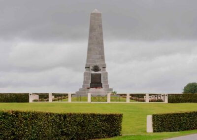 The Australian 1st Division Memorial, Pozieres, France.