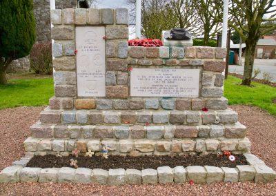 The Slouch Hat Memorial at Bullecourt, France - Battles Of Bullecourt | Australia World War One