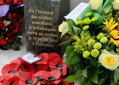 Dedication of Fromelles (Pheasant Wood) Military Cemetery