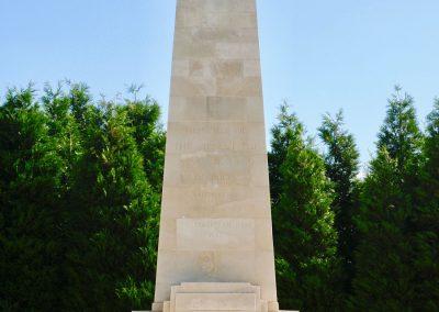 The New Zealand Memorial upon Messines Ridge, Belgium.