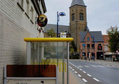 The town of Passchendaele, Belgium.