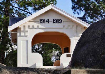 The Original Stanthorpe War Memorial opened in 1926.