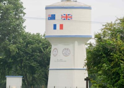 Water tower at the village of Bullecourt, France