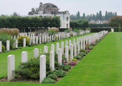 St. Sever Cemetery Extension where 477 Private James Patton is buried