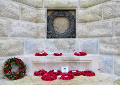 Blockhouse at Tyne Cot Cemetery captured by the Australian 3rd Division