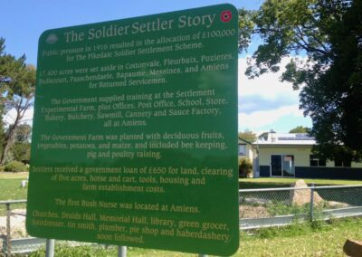 The Soldier Settler Story at Amiens State School, Queensland.