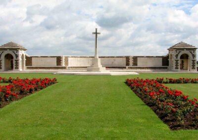 VC Corner Australian Cemetery and Memorial, Fromelles, France.