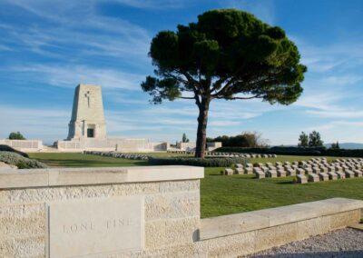 The Lone Pine Memorial, Gallipoli.