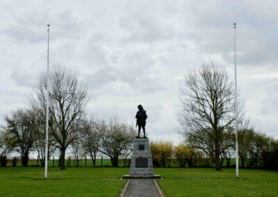 The Bullecourt Digger Memorial at Bullecourt, France