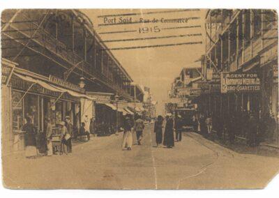 Postcard sent by 795 Trooper William Sharpe to David Byrnes.